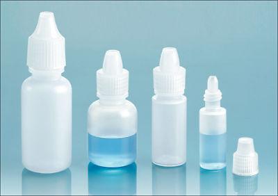 Plastic DROPPER BOTTLE Assortment 3 ml-6 ml-10 ml and 15 ml (2 each)