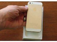 IPhone 5s GOLD 32gb unlocked like new