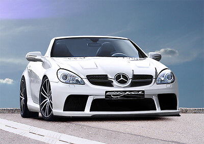 SLK R171 Mercedes Benz Black Series AMG 65 Look Umbau Spoiler Bausatz Bodykit B