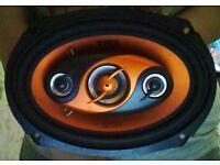 "Edge 6""x9"" Car Speakers 300w"