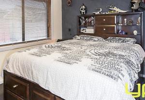 Queen size bed Melton South Melton Area Preview