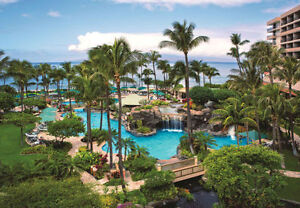 7 nights at the Maui Ocean Club. Ocean view.