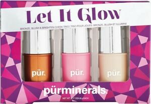 Pur Minerals eyeshadow eyeliner lipgloss mascara brushes foundat