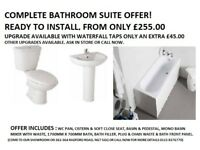 COMPLETE FULL BATHROOM SUITE OFFER