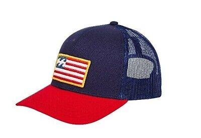 Merica Trucker Hat (Billabong Merica Trucker (Navy))