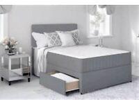 Unbelievable Discount New Divan Bed For Sale All Sizes Single Double