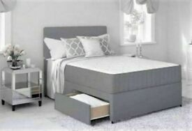 ⭐🆕 TOP QUALITY LUXURY DIVAN BED BASES IN ALL SIZES & COLORS READY TO GO, GRAB ONE TILL STOCK LAST