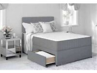 ⭐🆕ULTIMATE SALE DIVAN BED WITH MATTRESSES - SINGLE, DOUBLE, KINGSIZE AND MATTRESSES