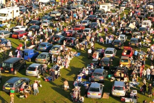 Big Ben S Giant Sunday Bank Holiday Monday Car Boot Sale Starts On