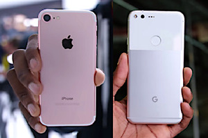 Trade iPhone 7 with Apple Care for Google Pixel XL