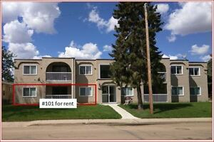 Renovated and Quiet Ground Floor Unit in Wetaskiwin AB