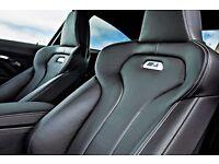 BMW m4 leather bucket interior 2015