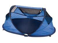 Ncessity delux pop-up travel cot/tent