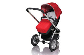 Mothercare Baby Pushchair - MyChoice 3 wheel with lie-flat seat unit