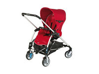maxi cosi pram system used twice red two