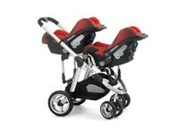 iCandy Double Buggy - Apple to Pear. Used but well loved.