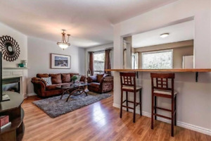 Rental 3 bedrooms townhouse, renovated walk out basement,hot tub
