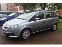 VAUXHALL ZAFIRA 1.6 5 DOOR 7 SEATER MPV MOT FOR A FULL YEAR LADY OWNER