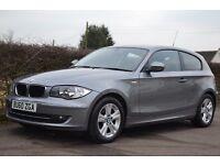 BMW 1 Series 118d 2010 3-door SAT NAV, Bluetooth, FSH, Parking Sensors