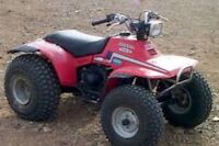 I need some 1985 trx125 parts bike or just parts