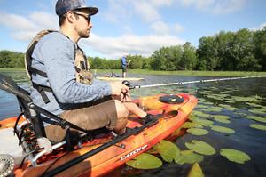 Kayaks de pêche à partir de 299 $ - Pelican/Pelican Premium/Elie