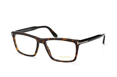 Tom Ford TF 5407 052 Eyeglasses Dark Tortoise Rectangular Authentic New 54mm