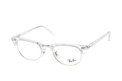 Brille Vista Ray-ban RX5154 Clubmaster 2001 Weiß Transparent Cal.51