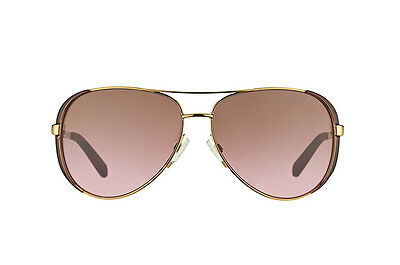 NWT Michael Kors Sunglasses MK 5004 101414 Gold / Rose Gradient 59 mm MK5004 NIB
