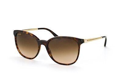 Genuine BVLGARI 8160 Sunglasses Replacement Lenses - Brown Gradient