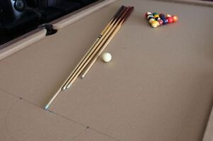 Like New: Slate Pool Table - MUST GO TODAY!