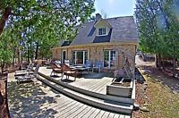 Executive waterfront Manitoulin Aug Vacation Rental