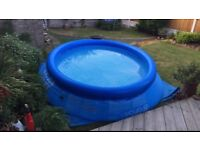 Intel 10ft x 30 inch inflatable pool £30