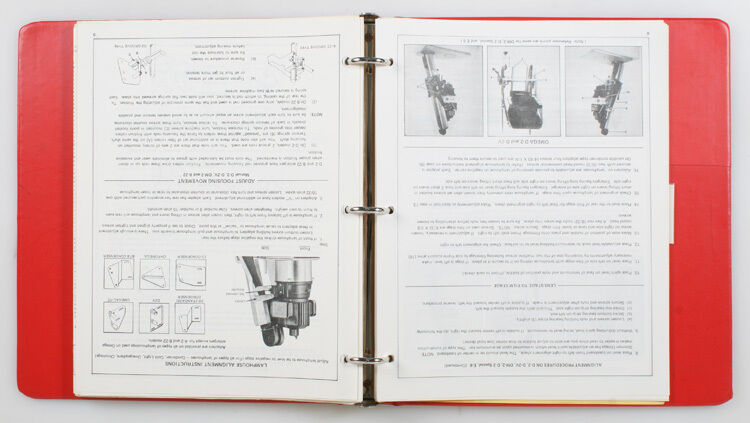 OMEGA SERVICE MANUALS FOR LAMPHOUSE/ENLARGERS/POWER SUPPLY