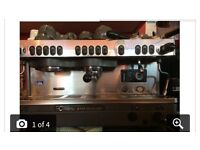 Commercial coffee machine catering