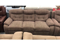Fabric 3 & 2 seater sofas