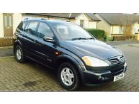 2008 Ssangyong Kyron Auto 2.0Diesel Low Mileage