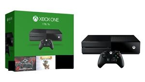 XBOX One 1TB, with Controller, and games