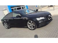 Audi A7 black edition # update new front pads and service done. #
