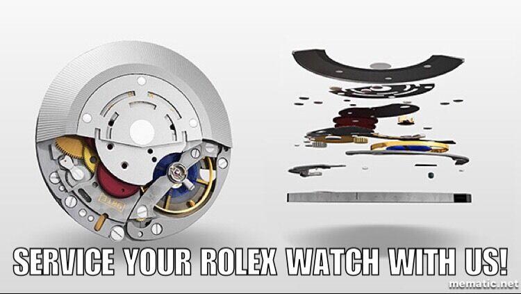 Rolex Watch Overhaul Service and Repair