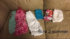 Size 2 Summer Toddler Clothes