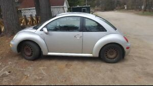 2001 beetle for parts