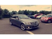 Mercedes c200 estate 2.2 Cdti 58 plate