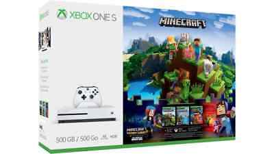 Microsoft Xbox One S Minecraft Complete Adventure Bundle  500Gb
