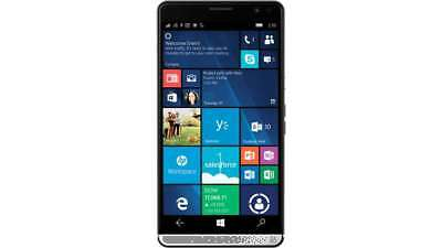"HP Elite X3 - phablet/Phone 5.96""Black - GSM Unlocked-LTE Smartphone - Excellent"