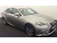 Lexus IS F Sport FROM £103 PER WEEK!