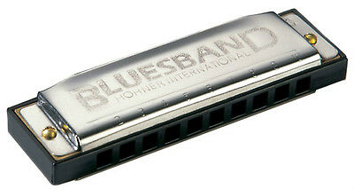 HOHNER BLUES BAND HARMONICA  # 1501~ Key of C ~ A Favorite!!    on Rummage