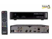 ZGEMMA STAR LC SINGLE TUNER RECEIVER BOX 12 MONTHS PLUG AND PLAY