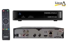 GENUINE ZGEMMA STAR LC SINGLE TUNER CABLE TV RECEIVER BOX 12 MONTHS ALL HD CHANNELS PLUG AND PLAY
