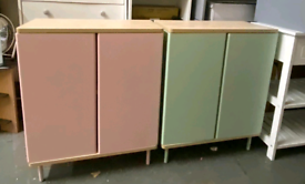 2 door storage sideboard only £50 each. Real Bargains Clearance Outlet