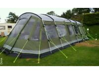 7 man Tent with electric hookup plus loads more accessories